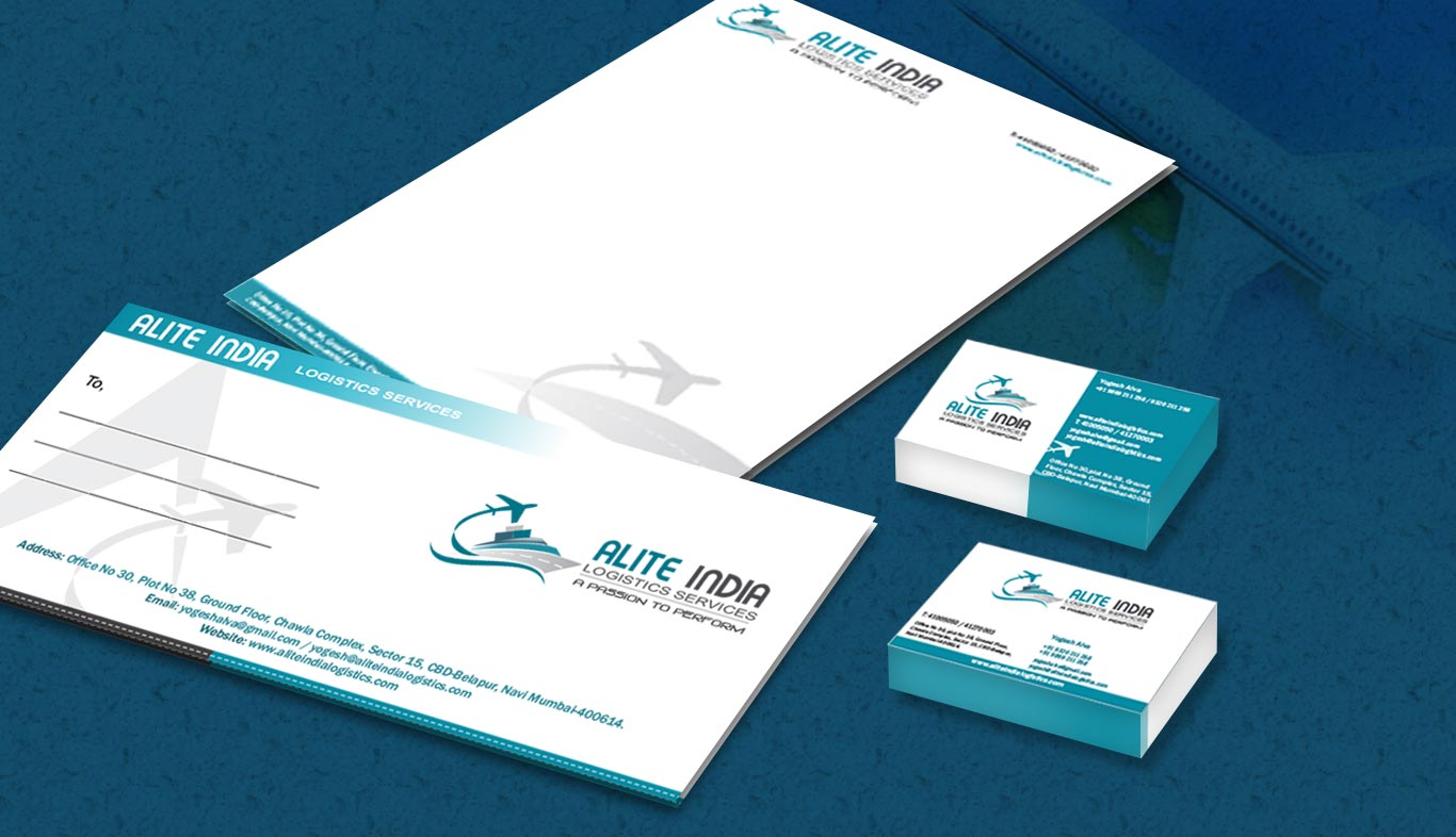 Business Card and Letter head Alite India