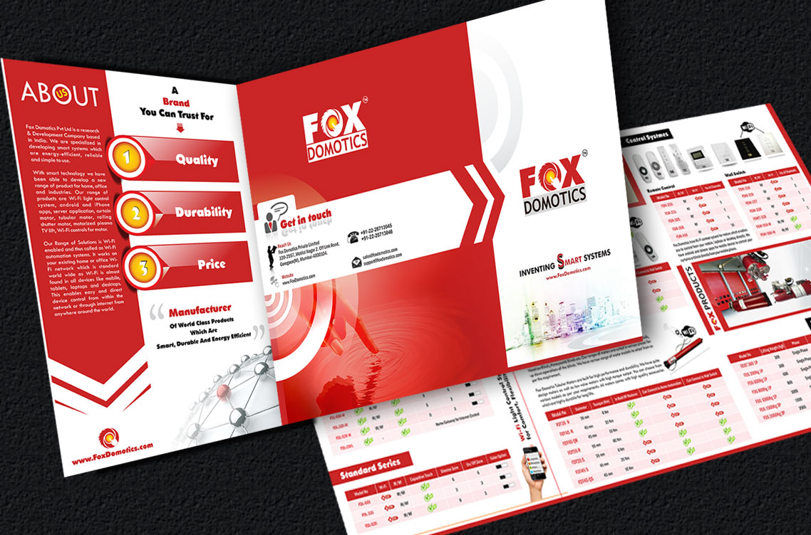 Fox Domotics Brochure