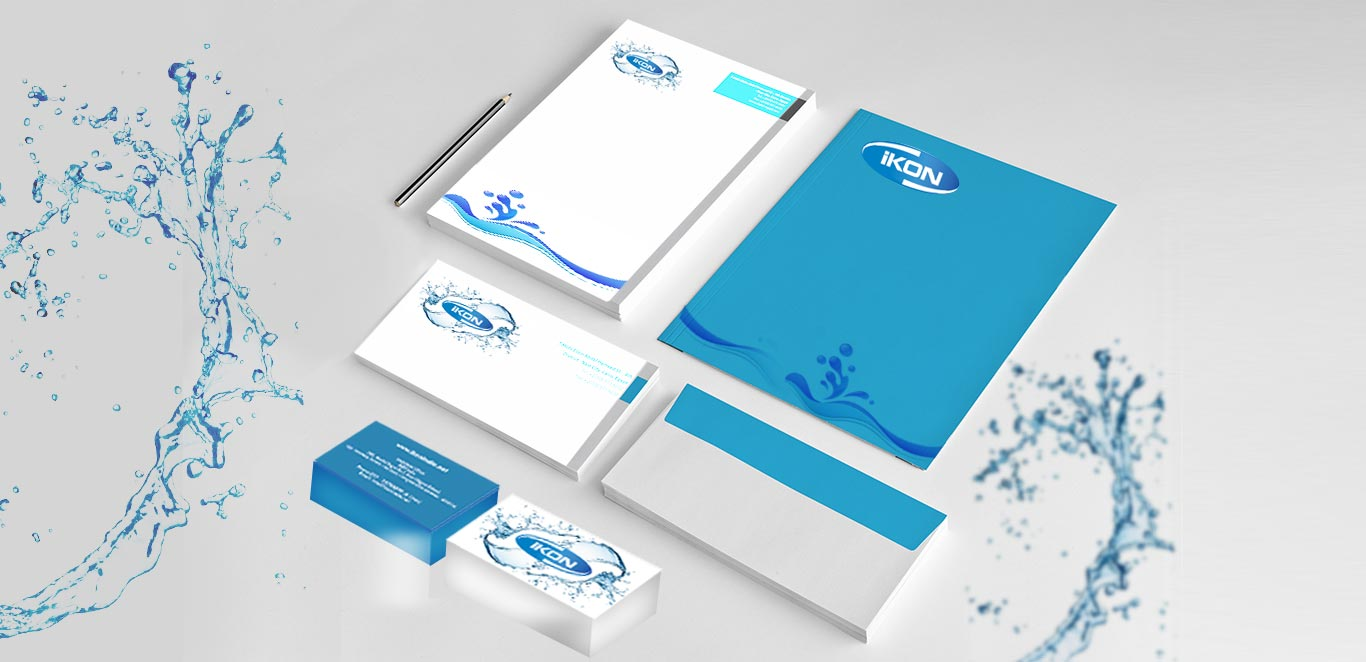 Business Card and Letter head Ikon India