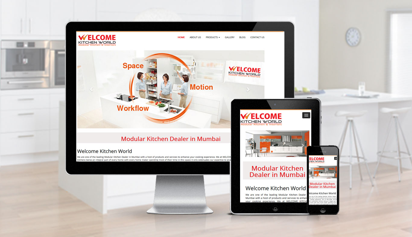 Welcome Kitchen World Website