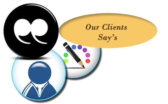 Our Client's Say